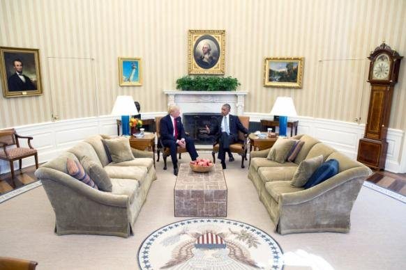 Obama, Trump Meet
