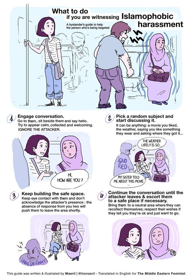 Harassment Cartoon