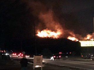 Wears Valley Fire