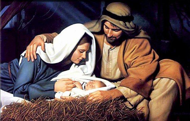 Jesus Mary & Joseph