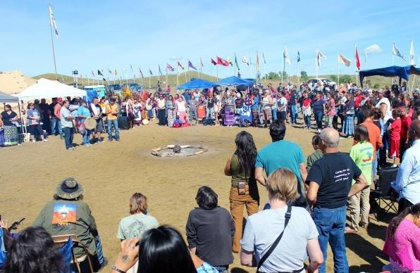 Standing Rock Flags