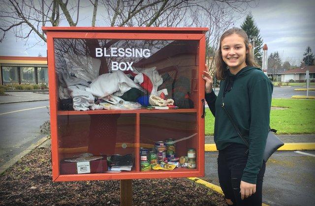 Puyallup Blessing Box