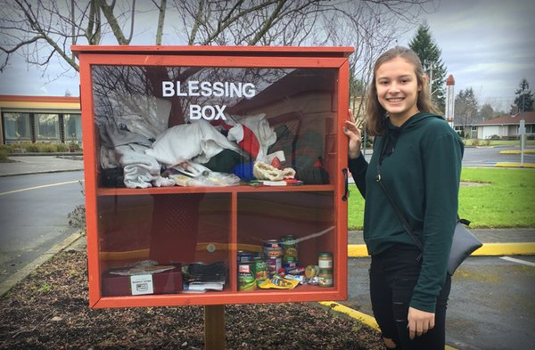 Puyallup Blessing Box