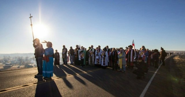 Clergy at Standing Rock