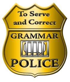 Grammar Police