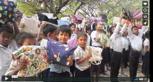 Cambodia School Kits