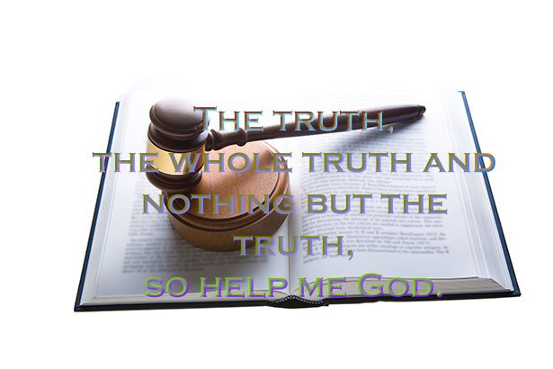 Truth gavel