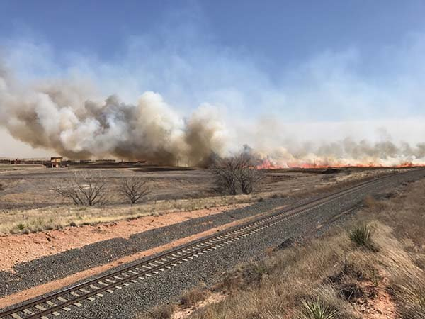 Plains wildfires