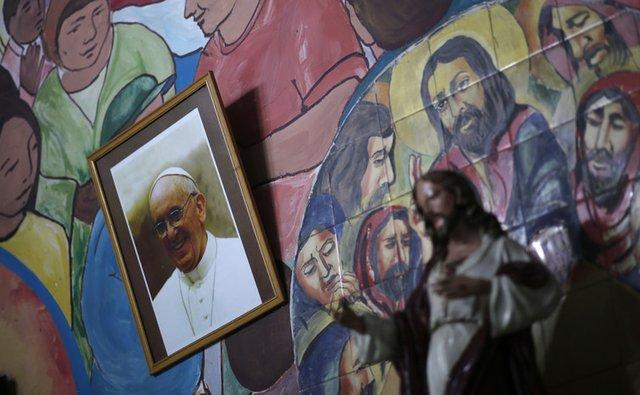 Pope Francis Slum
