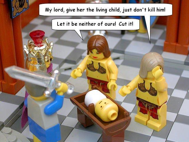 Lego Solomon Baby