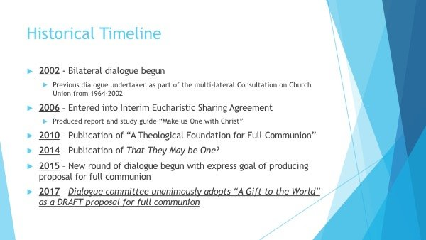 UMC-EC Timeline