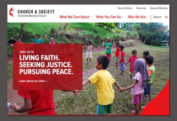 Church & Society website