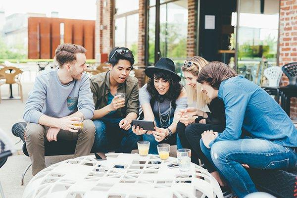 Millennials Socialize