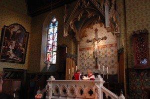 Basilica side altar