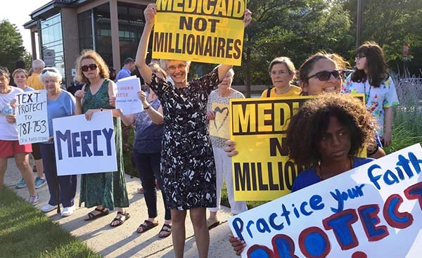Medicaid Protest