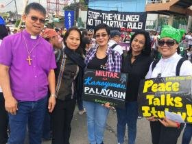 Bishop Francisco Martial Law