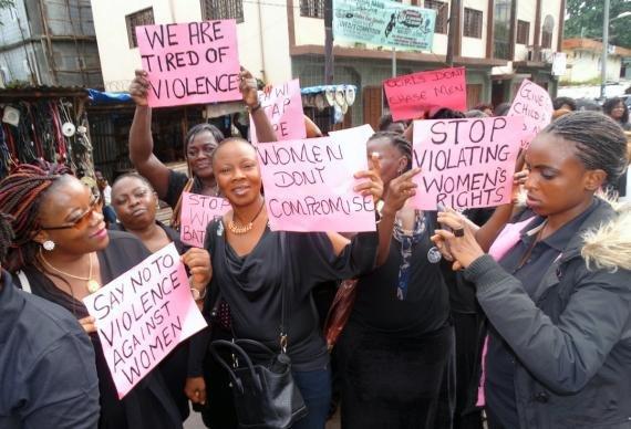 Sierra Leone UMW Protest 1