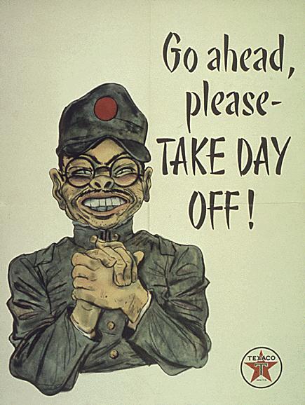 Anti Japanese Poster