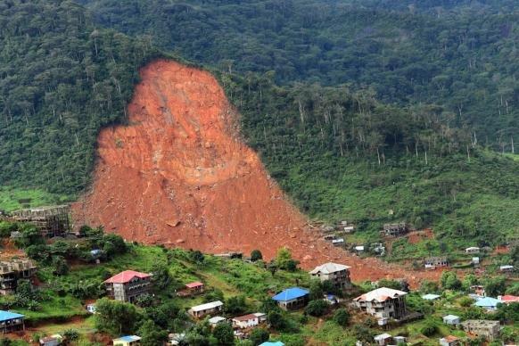 Mudslide Sierra Leone