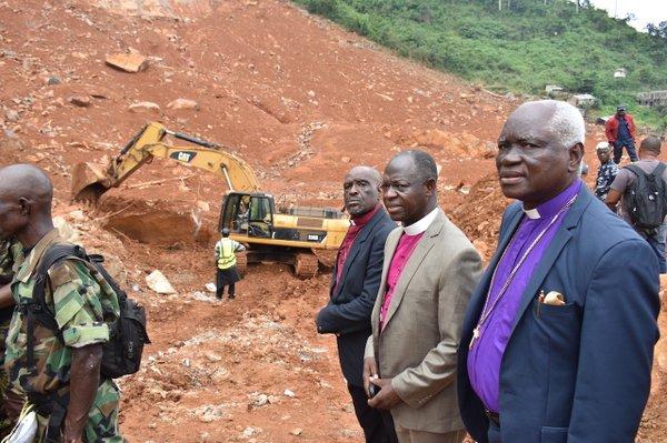Mudslide visit