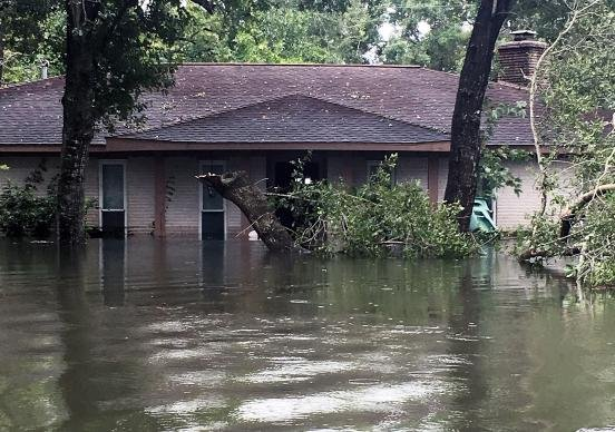Wolfe House Flooded