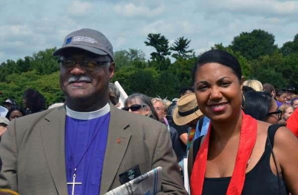 Bishop Trimble Ministers March