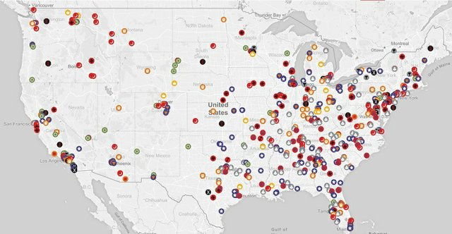 SPLC Hate Map