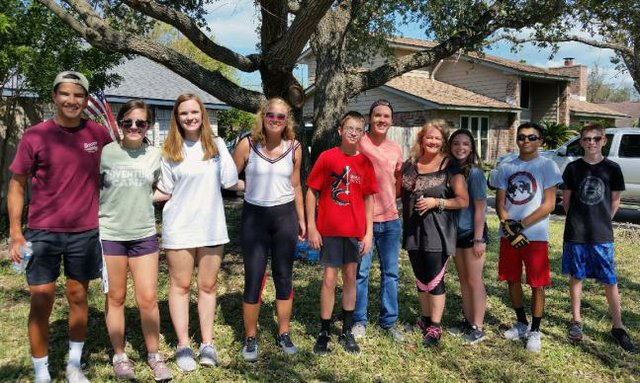 Corpus Christi Youth Clean Up