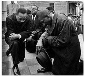MLK Kneeling