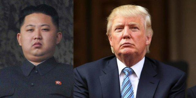 Kim-Jong Un Donald Trump