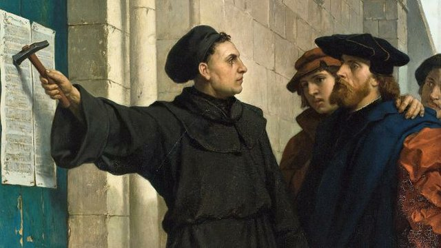 95 Theses Painting