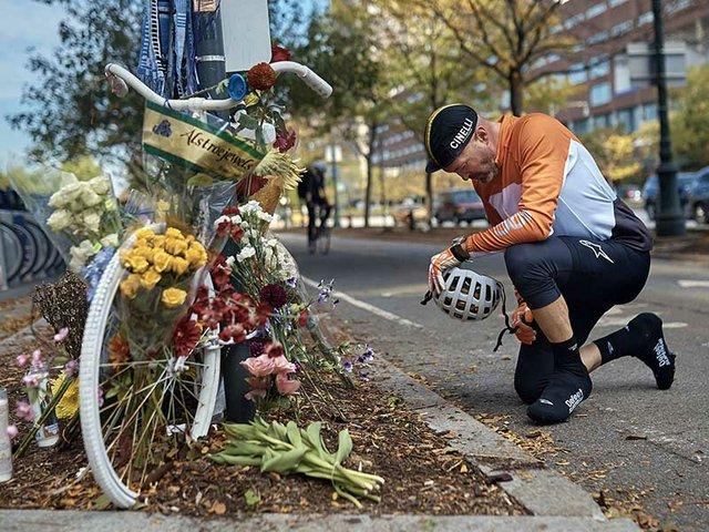 NYC Bike Memorial