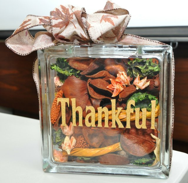 Thankful Vase
