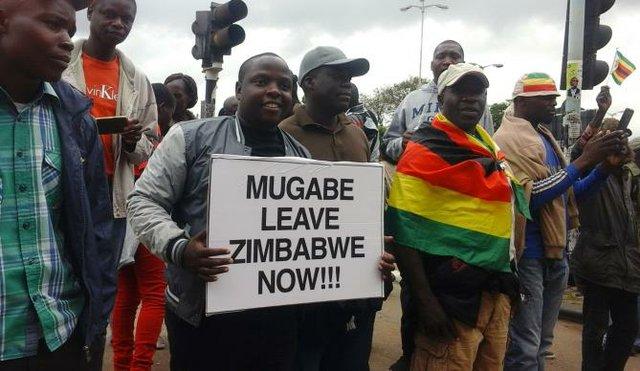 Mugabe Leave