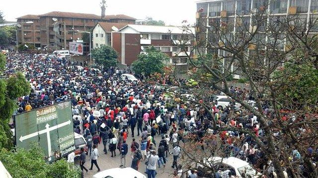 Zimbabwe crowds