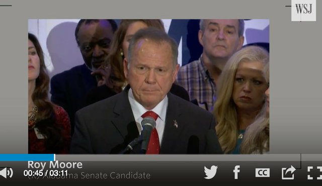 Roy Moore Wall Street Journal