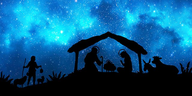 Christmas Nativity in the Night