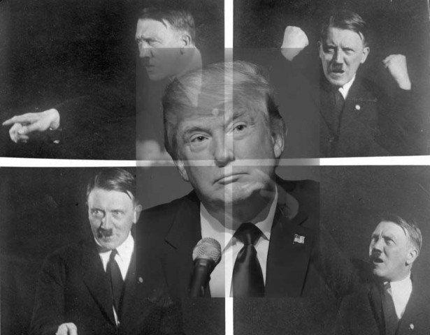 Trump over Hitler