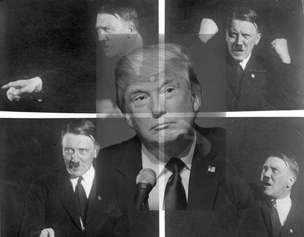 Trump over Hitler