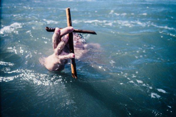 Drowning cross