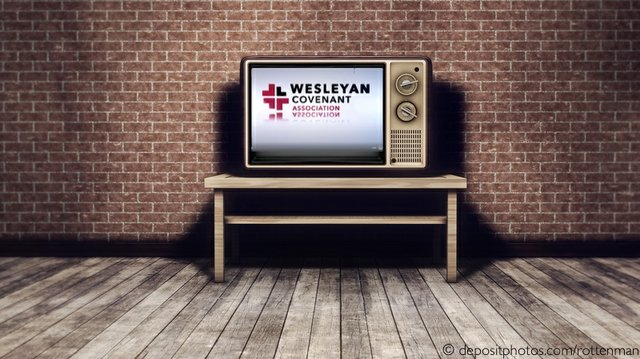Old TV Set WCA