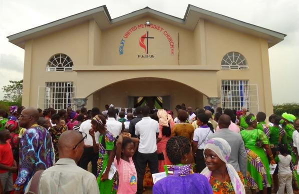 Sierra Leone Church Dedication