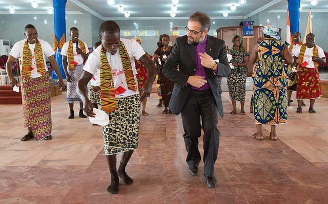 Dancing Bishop