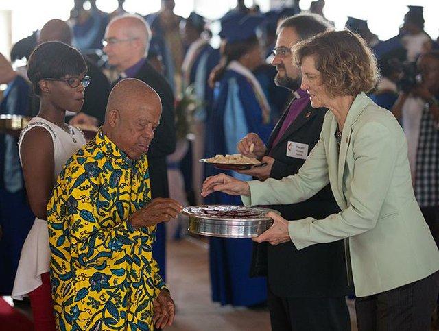 Cote d'Ivoire Communion