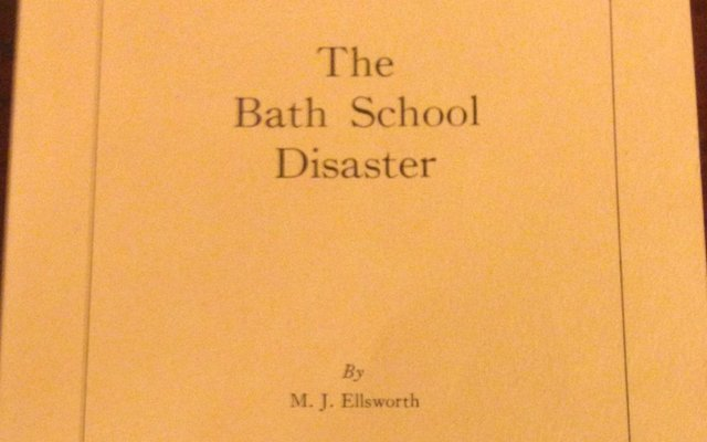 Bath School Disaster