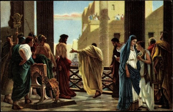 Jesus and Pilate