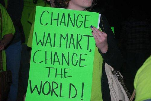 Change Walmart