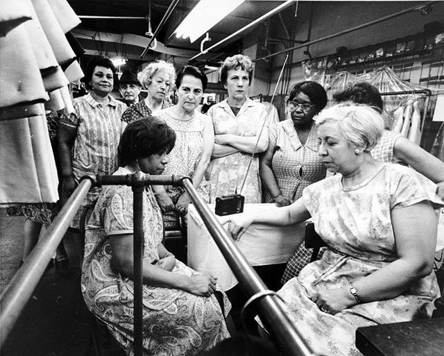 Garment Workers MLK Funeral