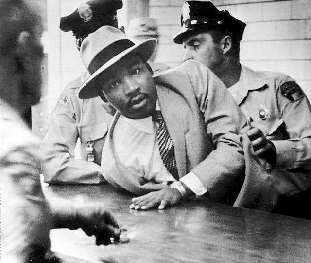 MLK Arrested