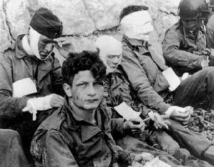 Wounded WWII Soldiers